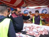 """""""مستقبل وطن"""" ينظم قافلة طبية بالمنيا ويطلق منفذًا لبيع اللحوم فى الفيوم"""