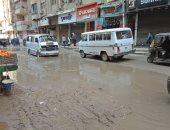 شكوى من تسرب مياه الصرف الصحي بشارع الملكة فى فيصل
