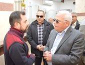 صور.. محافظ بورسعيد يتابع سير العمل فى المركز التكنولوجى بمدينة بورفؤاد