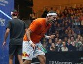 محمد الشوربجي يتأهل لنصف نهائي جي بي مورجان المفتوحة للإسكواش