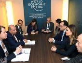 نشاط مكثف لرئيس الوزراء فى مؤتمر دافوس الاقتصادى العالى