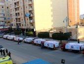 """صور..حزب مستقبل وطن ينظم قافلة بمحافظة مطروح لدعم مبادرة """"حياة كريمة"""""""