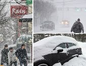 موجة طقس باردة تضرب أمريكا.. إلغاء رحلات الطيران بسبب عاصفة شتوية شرق الولايات المتحدة.. آلاف المنازل بدون كهرباء.. والثلوج تكسو الشوارع وتغلق الطرق فى درجة برودة تصل إلى 40 تحت الصفر.. صور