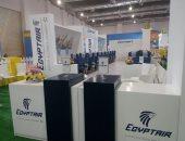 مصر للطيران والبنك الأهلي يوقعان عقود تطوير خدمات التحصيل الإلكترونى