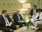 صور.. وزير خارجية ليتوانيا للنواب: نقدر دور مصر بالمنطقة ودعوناها لحضور قمة العلوم
