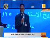 """والد أحد الشهداء: """"نترجى الرئيس يوافق على الاستمرار لفترتين رئاسيتين.. عشان نحافظ على مصر"""""""