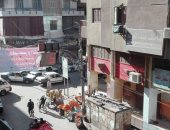 قارئ يشكو إشغالات الباعة الجائلين بشارع 26 يوليو فى أسيوط