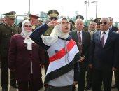 محافظ كفر الشيخ ومدير الأمن يفتتحان المدينة المرورية للأطفال