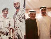 على طريقة تحدى الـ10 سنوات.. بن زايد مع قائد كلية زايد العسكرية قبل 20 عاما