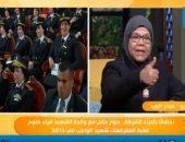 شاهد.. رسالة قوية من والدة شهيد فى عيد الشرطة للمصريين