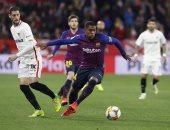 موعد مباراة برشلونة ضد إشبيلية فى كأس الملك