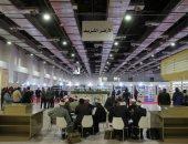 صور.. عايز فتوى وتكتب اسمك بالخط العربى.. داخل جناح الأزهر بمعرض القاهرة للكتاب