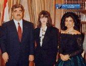 استقبلها رفيق الحريرى وزوجته.. صورة نادرة لنجمة الغناء إليسا قبل الشهرة