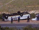 مصرع 4 وإصابة 31 سائحا فى حادث سير بولاية (يوتا) الأمريكية