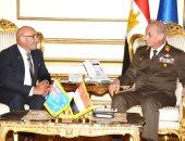 وزير الدفاع يلتقى نظيره النيوزيلندى لبحث سبل التعاون المشترك
