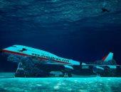 جربت تطير فى البحر.. شاهد البحرين تطلق منتزه غوص تحت الماء لطائرة بوينج