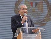 وزير التموين يصل ديوان محافظة كفر الشيخ قبل افتتاح تطوير مصنع الدلتا لبنجر السكر