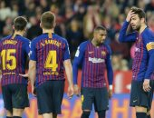 أخبار برشلونة اليوم عن لعنة تطارد البارسا خارج كامب نو فى دورى الأبطال