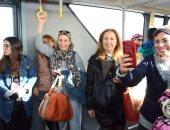 وصول أول رحلة إلى مطار سفنكس قادمة من أسوان