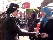قيادات الأمن بكفر الشيخ يصلون صلاة الغائب على أرواح شهداء الشرطة