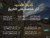 """""""إنفوجراف"""".. تعرف على مدينة الأخدود الأثرية فى جنوب السعودية"""