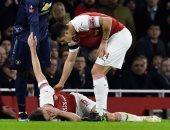 إصابة 4 مدافعين تضاعف معاناة أرسنال بعد الخسارة من مانشستر يونايتد