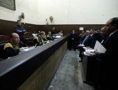 """صور.. رفع جلسة محاكمة المتهمين في قضية """"فساد القمح الكبرى"""" للقرار"""