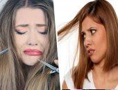 """""""كرياتين وصبغة كتير"""" حاجات بتضر شعرك وصحتك.. الفورمالين يسبب السرطان والربو والسعال.. الصبغة ممكن تسبب تهيج الجلد وتساقط وجفاف الشعر.. وزيت الزيتون والأفوكادو طرق طبيعية للحصول على شعر ناعم وصحى"""