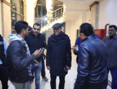 """صور.. إلغاء عروض أشرف عبد الباقى """"مسرحية كلها غلط"""" بشكل مفاجئ بالإسكندرية"""