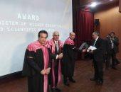 وزير التعليم العالى يصل جامعة المنصورة للمشاركة بالملتقى الأول للطلاب الوافدين