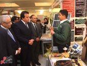 صور.. وزراء التعليم والتعليم العالى والهجرة يفتتحون معرض ابتكارات جامعة الطفل