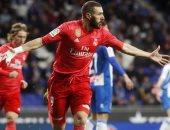 ليجانيس ضد ريال مدريد.. بنزيما يتعادل للملكى فى بداية الشوط الثانى 1-1