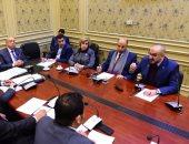 """صور.. تفاصيل اجتماع """"خارجية البرلمان"""" بشأن ألغام العلمين بحضور ممثلين عن الحكومة"""