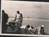 قصة صورة.. الملك فاروق فى إحدى رحلات الصيد عام 1941