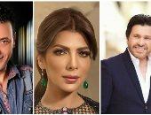 الشاعر ناصر الجيل يتعاون مع هانى شاكر وأصالة في ألبوماتهما القادمة