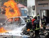 صور.. مقتل وإصابة 7 أشخاص إثر انفجار سيارة مفخخة فى مقديشيو
