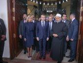 فيديو.. الإمام الأكبر للرئيس الفرنسى: السلام هو رسالة الأزهر لحماية الأرواح