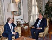 شكرى يبحث مع بوجدانوف الحفاظ على وحدة وسيادة الدول العربية