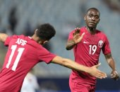 المعز على يعزز فوز قطر بهدف ثان أمام الإمارات بالدقيقة 37..فيديو
