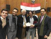 اليمن تشارك فى الملتقى الأول للطلاب الوافدين بالجامعات المصرية.. صور