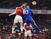 شوط سلبي بين أرسنال ضد كارديف بمشاركة النني فى الدوري الإنجليزي