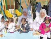 """صور.. """"الداخلية"""" تسمح لأطفال السجينات بزيارة أمهاتهم فى سجن النساء"""