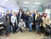 صور.. اليوم السابع يحتفل بنجوم اليد بعد تحقيق المركز الـ8 بكأس العالم