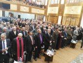 """افتتاح كنيسة ملوى """"الإنجيلية"""" بالمنيا بعد إعادة بنائها وترميمها بالكامل"""