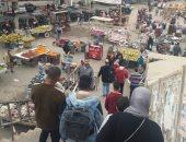 قارئ يشكو انتشار الباعة الجائلين بمنطقة شارع ناهيا بولاق الدكرور
