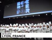 """شاهد.. أطباق فريدة فى مسابقة """"بول بوكوز"""" الذهبية بالألعاب الأولمبية للمطبخ"""
