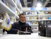 """شاهد.. محمد غنيم يوقع مجموعته """"السيدة ش"""" فى معرض الكتاب"""