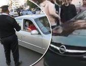 ضبط 4924 مخالفة مرورية بمحاور و ميادين الجيزة خلال 24 ساعة