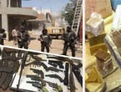 حبس 3 عاطلين بتهمة تكوين تشكيل عصابى لتجارة الأسلحة النارية فى المطرية