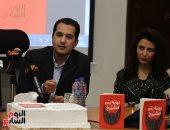 """صور.. محمد الدسوقى رشدى يوقع """"نهاية زمن الشيوخ"""" فى معرض القاهرة للكتاب"""